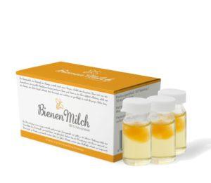 Bienenmilch in Trägerflüssigkeit